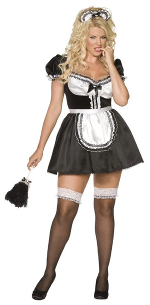 Curves French Maid Costume
