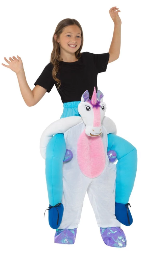 Kids Piggyback Unicorn Costume