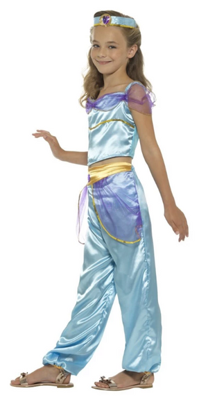 Arabian Princess Costume - Blue