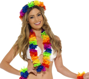 Hawaiian Set - Rainbow/Multi-Coloured