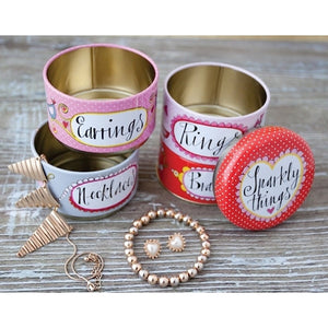 Stacking Tins Sparkly Things & Jewellery