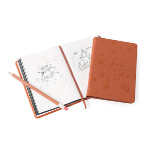 Brown Waterproof Notebook