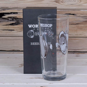 Workshop Beer Glass