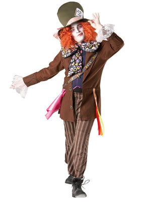 Alice in Wonderland - Mad Hatter Costume (Adult)