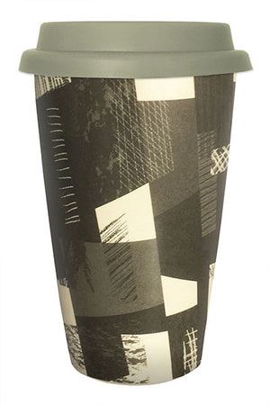 Bamboo Cup - Black & White