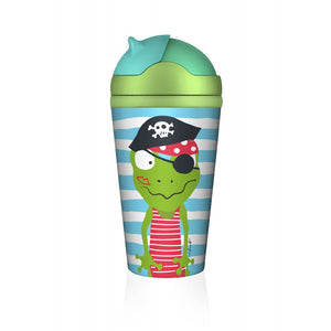 Bamboofriends Bamboo Kid's Cup - Piratenschatz Quaky
