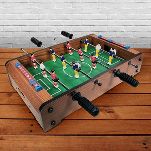 Wooden Tabletop Football