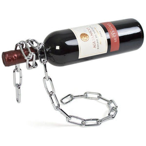 Wine Bottle Holder - Chain Floating