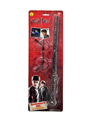 Harry Potter Blister Kit; Wand & Glasses