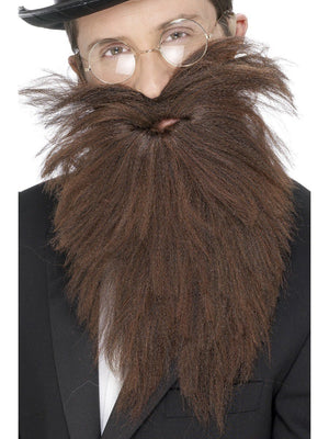Long Beard And Tash - Brown