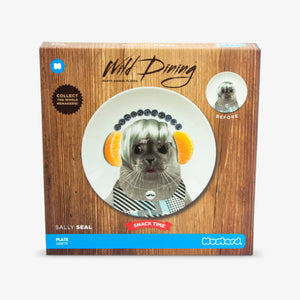 Wild Dining Baby Seal Plate