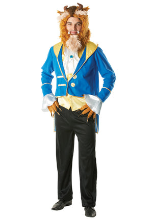 Beauty And The Beast - Beast Costume (Adult)