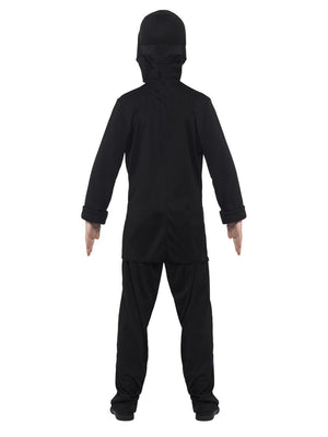 Ninja Assassin Costume - (Black & Blue)