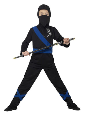 Ninja Assassin (Black & Blue) Costume