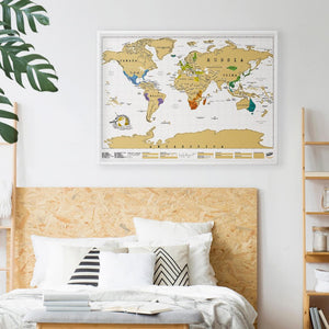 Scratch Map: Original Poster