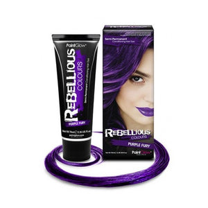 Semi Permanent Hair Dye - Purple Fury