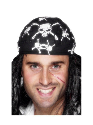 Pirate Bandana, Skull and Crossbones Design
