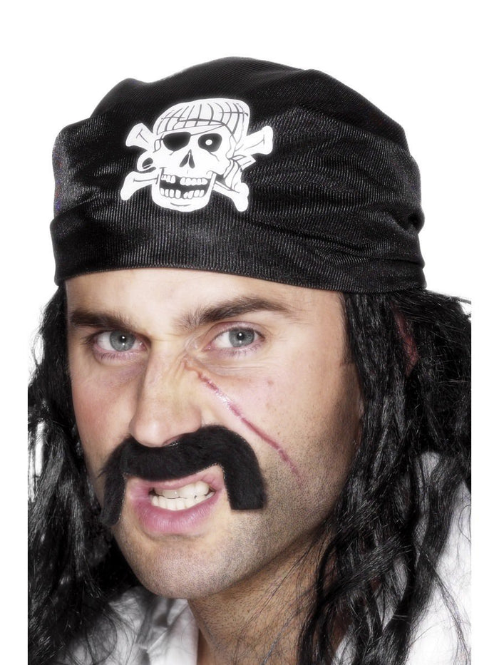 Pirate Bandana, with Skull & Crossbones