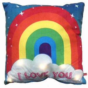 Rainbow Light-Up Cushion