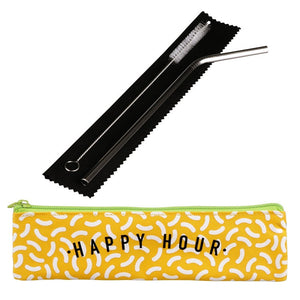 Happy Hour - Reusable Straw Set