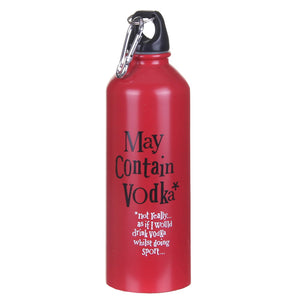 """May Contain Vodka"" Water Bottle"