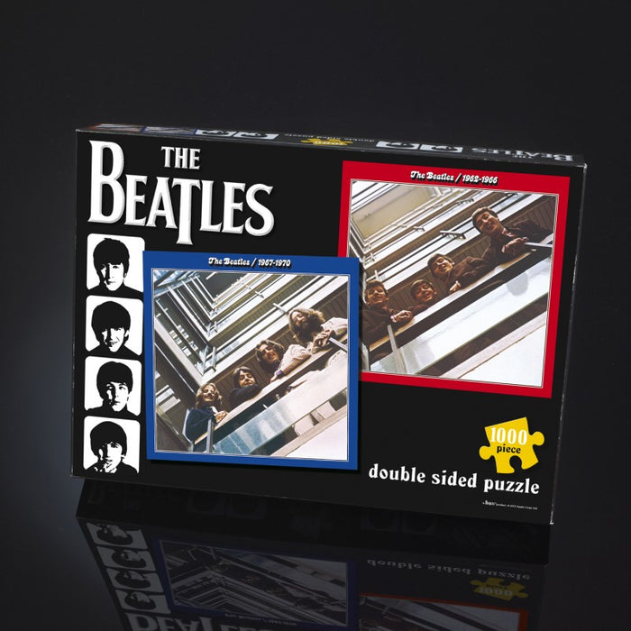 The Beatles - Red & Blue Double 1000 piece puzzle