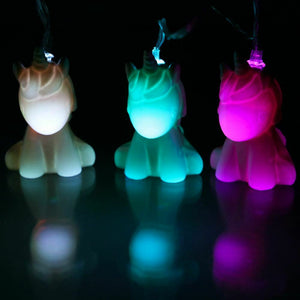 Unicorn String Lights Colour Changing