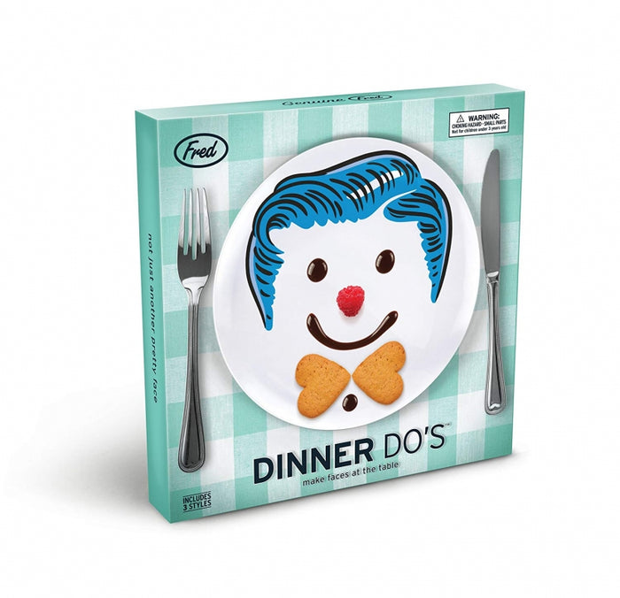 Dinner Do's Boy Plate Set