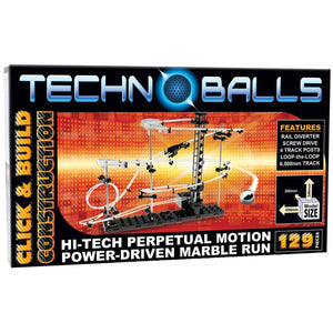 Techno-Balls Motorised Marble Run (129pc)