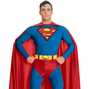 Superman Costume - (Adult)