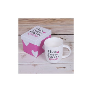 """I Know...I Look too young to be a Grandma"" Mug & Gift Box"