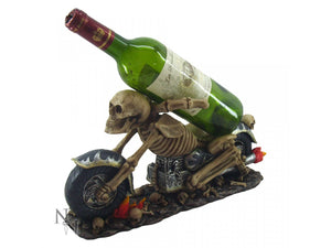 Weird Or Wonderful Guzzler Wine Bottle Holder - Death Ride