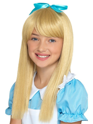 Wonderland Princess Wig - Blonde (Child)