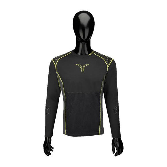 Bauer Performance Long Sleeve Grip Hockey Crew Top - Senior