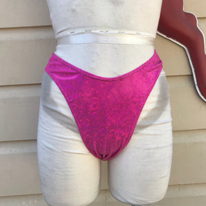 Pink High Cut Bottoms
