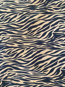 Tiger Print Fabric - Stretch