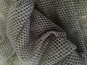 Black Knetting Fabric - Non Stretch