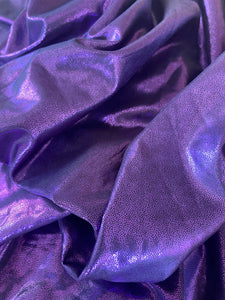 Metallic Purple Cosplay Fabric - Stretch