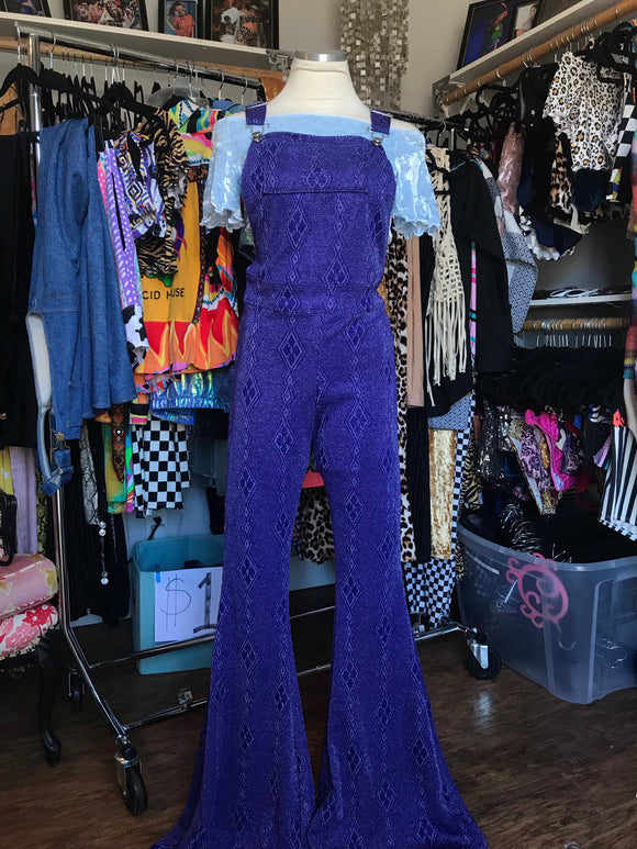 Sparkle Bell Overalls