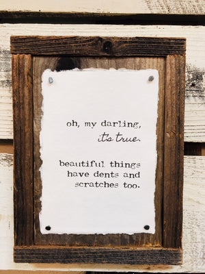 Prints on Reclaimed Wood Frames