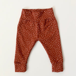 Terracotta Confetti Child and Baby Leggings