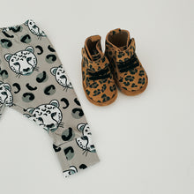 SALE - Grey Leopard Child and Baby Leggings
