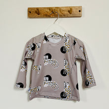 Dotty Leopards Long Sleeve Top