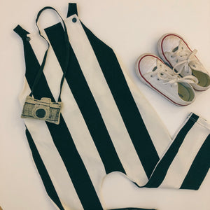 Candy Stripe Overalls