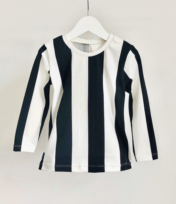 Candy Stripe Long Sleeve Top