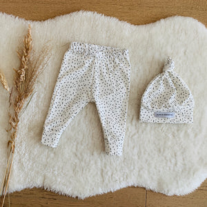Baby Gift Sets (includes baby leggings with matching hat, bib or both)