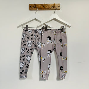 Dotty Leopards Child and Baby Leggings