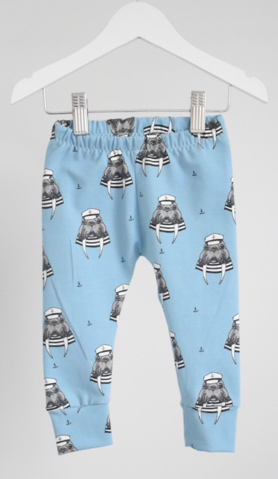 Captain Walrus Child and Baby Leggings