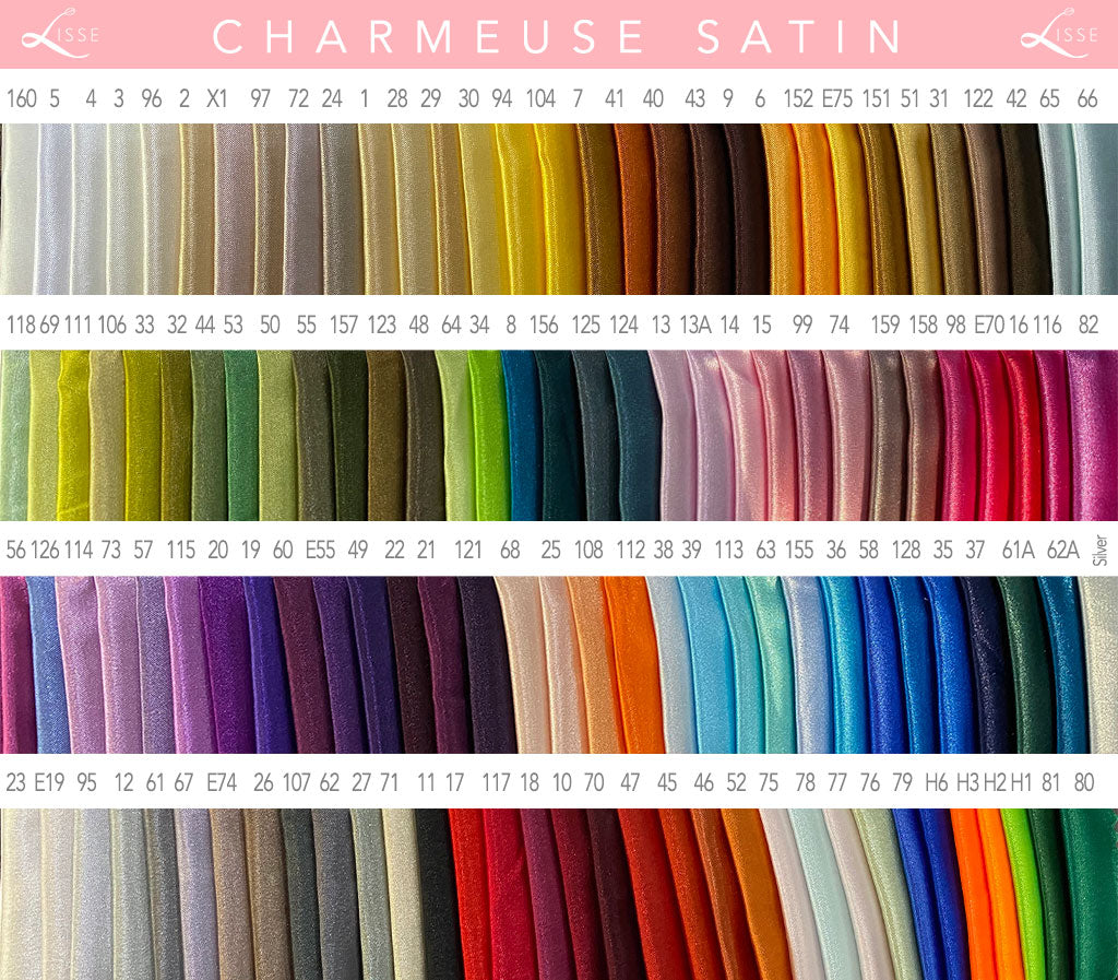 Charmeuse Swatches