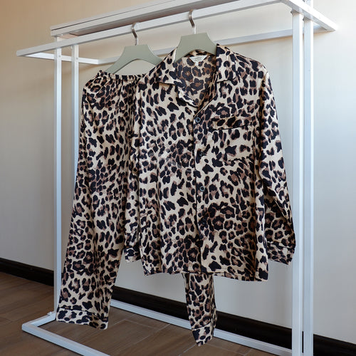 Leopard Print Pajama Set (His / Hers)